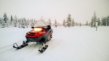 Snow mobile, Nokia Lumia 1020