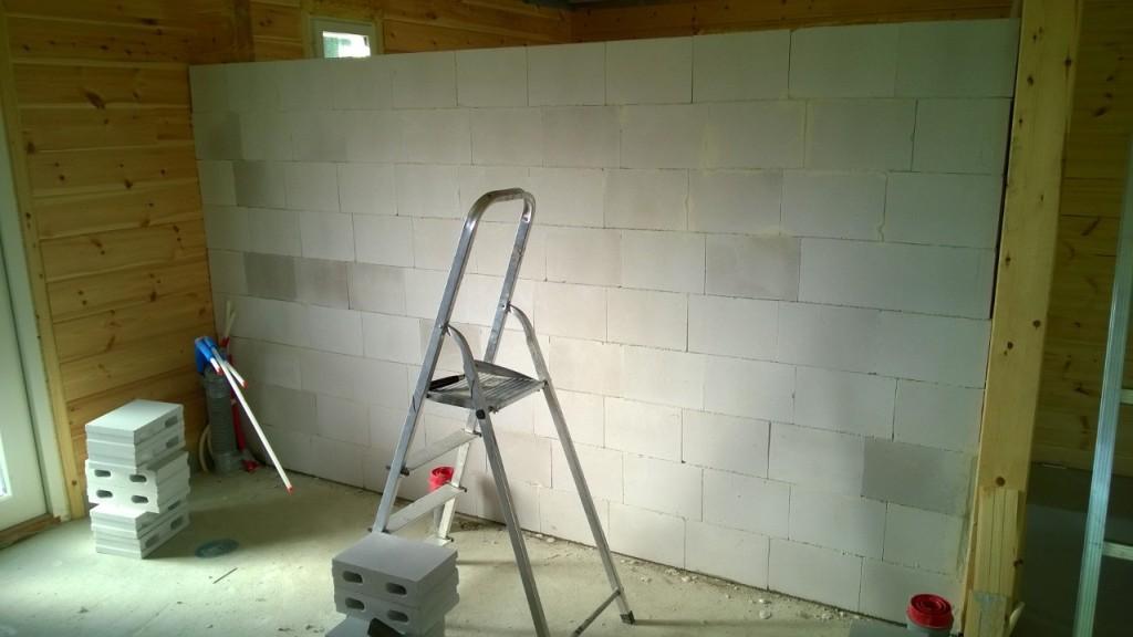 Muurattu Seinä Kesken