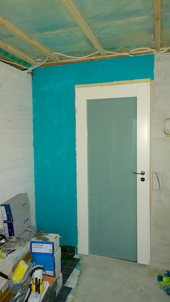 Kylpyhuoneen seinän vedeneristys